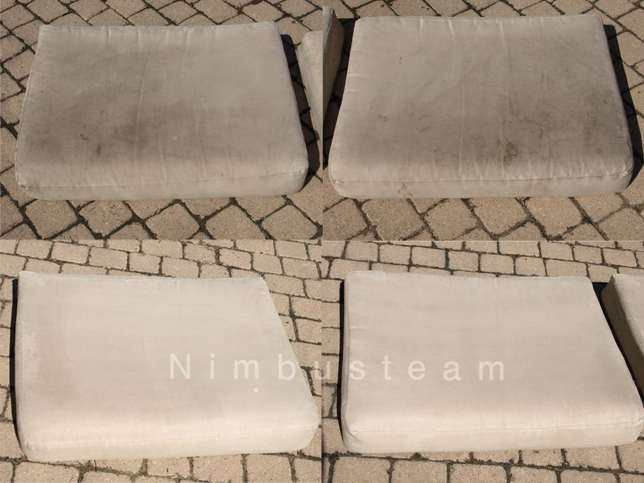 Nimbusteam lavage automobile nettoyage v hicule ecologique la vapeur - Nettoyage canape alcantara ...